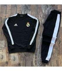 Real Madrid futbol klubu idman dəsti - qara rəngli
