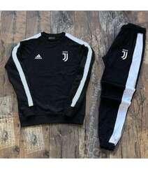 Juventus futbol klubu idman dəsti - qara rəngli