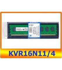 DDR3 Kingston 4 GB PC3-12800CL (KVR16N11/4)