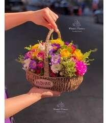 Winnie's Flowers dən qarışıq gül səbəti