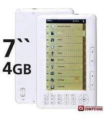"E-Book Reader Digital Pocket Edition 7"" TFT Media Player w/ FM Radio/MP3/MP5/Voice Recorder 4GB Flash"
