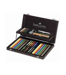 "Faber Castell Karandaş Dəsti ""ART&GRAPHIC COLLECTION"" 53 Parça 110088"