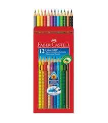Karandaş 12 Rəngli Akvarel Özəllikli Faber Castell 112412