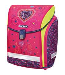Bel çantası Herlitz Pink Hearts 4 predmet ilə 50013715