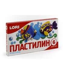 Oyun Xəmiri Klassika Lori 6 Rəng Пл-005