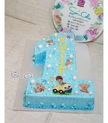 Rəqəmli tort 1kq