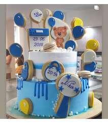 Yeni doğulan uşaq üçün tort 1kq
