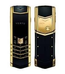 Vertu signature gold-