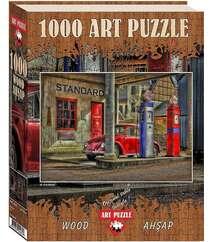 Пазлы Art Puzzle Заправка 1000 элементов 4437