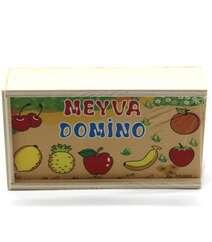 Domino Meyvələr taxta