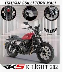 K LiGHT 202 model motosiklet