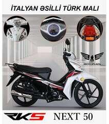 Next 50 model motosiklet