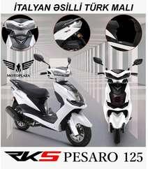 Pesaro 125 model motosiklet