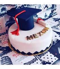 Məzun günü tort 1kq