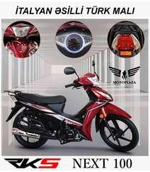 Next 100 model motosiklet