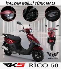 Rico 50 model motosiklet