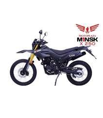 MİNSK X 250 model motosiklet