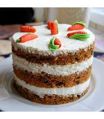 Morkovlu tort 1kq