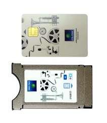 CAM модуль и карточка с договором для декодирования НТВ+ (НТВ ПЛЮС)