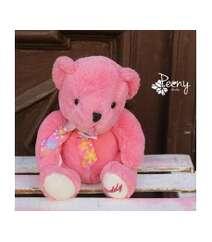 Bear Teddy pink yumşaq oyuncaq