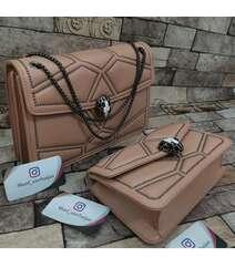 Bvlgari çanta krem