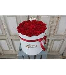 23 RED NAOMİ LARGE BOX WHİTE