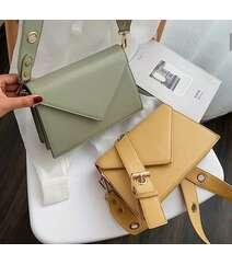 Sarı rəng çanta