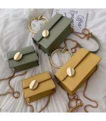 Yaşıl rəng mini çanta