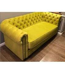 Sarı rəng divan 1m