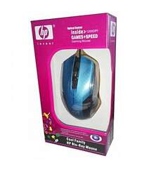 1200dpi Blu ray Usb Wired Optical Gaming Mouse For Pc laptop  Blue