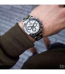 Gümüşü rəng qol saatı