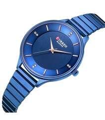 Mavi rəngli qol saatı