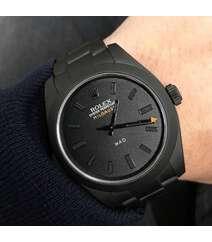 Rolex qara rəng qol saatı
