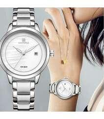 Naviforce gümüşü rəng qol saatı