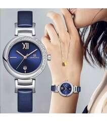 Naviforce mavi rəng qol saatı