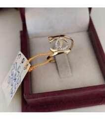 Chanel qızıl üzük - 585 əyar