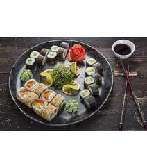 Sushi-vegeterian set