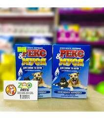 Капли Рекс и Муся для кошек и собак (инсектоакарицидные) №4 препаратам