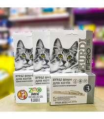 Капли Бурди ФИПРО для кошек (инсектоакарицидные с фипронилом)
