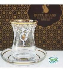 BUTA GLASS 6 lı çay dəsti