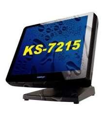 "POS TERMİNAL POSİFLEX KS-7215G GEN 5 BASE, TEXTURE,15"" LCD,TEXTURE BEZEL,NO OS,,RESİSTANCE TOUCH (KS-7215G)"