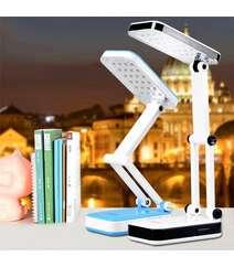 Diod işıqlı stolüstü (24 LED) akkumlyatorlu qatlanan lampa