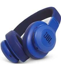 JBL E55BT BLUETOOTH OVER-EAR HEADPHONES BLUE