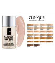 Clinique spf 15 tərkibli, natural bitişli tonal kremi