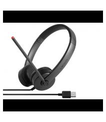 Headphones Lenovo Stereo USB Headset (4XD0K25031)
