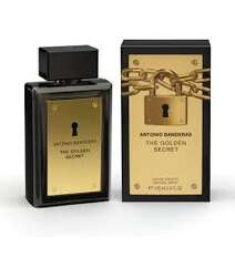 ANTONIO BANDERAS THE GOLDEN SECRET EDT M 100ML