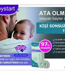 Babystart Kişi Sonsuzluq Testi