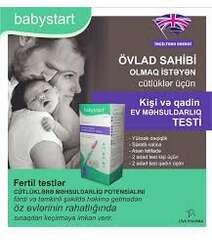 Babystart Kişi və Qadin üçün Sonsuzluq Testi