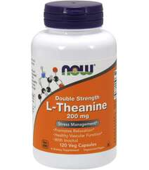 Now L-Theanine 200mg (120 caps)