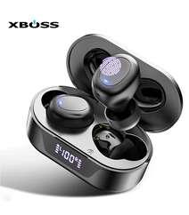 XBOSS Bulutuz Qulaqcıq Hi-Fi HD Stereo Mikrafonlu Barmaqla İdarə Olunan